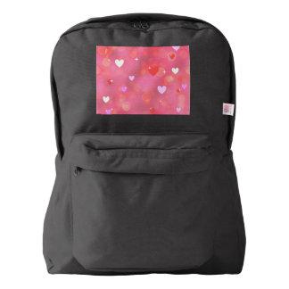 Valentine's background backpack
