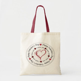 valentines - Budget Tote Budget Tote Bag