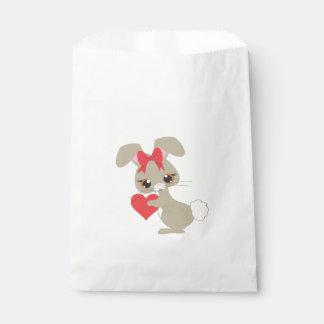 Valentines Bunny Favour Bag