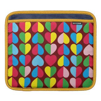 Valentines Candy Hearts iPad Sleeve