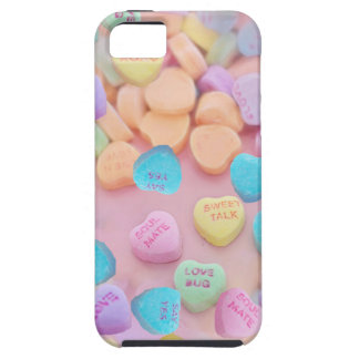 valentines candy hearts iPhone 5 case