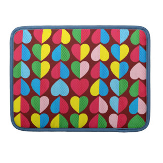 Valentines Candy Hearts Sleeve For MacBook Pro