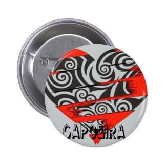 valentine's capoeira mma martial arts love axe 2 inch round button