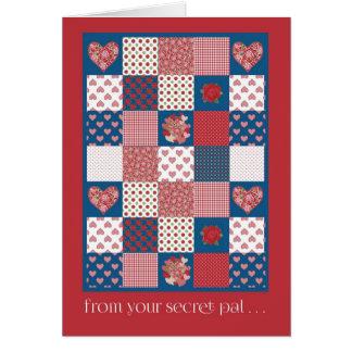 Valentine's Card, Secret Pal, Hearts, Roses