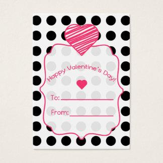 Valentine's Cards - Set Of 100 - Polka Dots