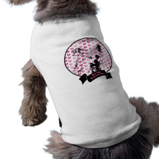 Valentines - Chinese Crested Silhouette Pet Shirt