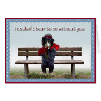 Valentine's Day 2012 Andean Bear Foundation Card
