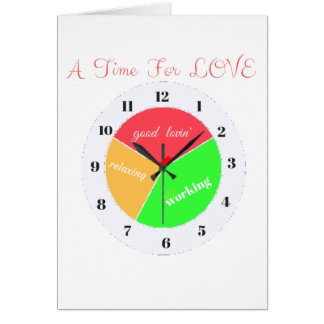VALENTINES DAY  A TIME FOR LOVE  T-SHIRT CARD