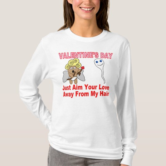Valentine's Day: Aim Your Love T-Shirt