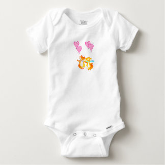 Valentines Day baby outfit. Boy or Girl. Baby Onesie