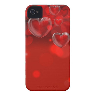 Valentines Day Background Header iPhone 4 Case-Mate Cases