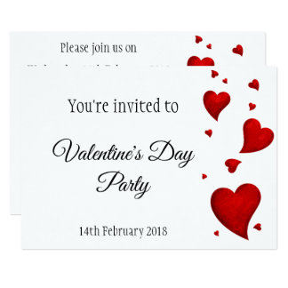 Valentine's Day Ball Party invitation