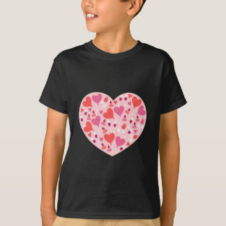 Valentine's Day Balloon Hearts Party Fun T-Shirt