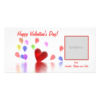 Valentines Day Celebration Photo Cards