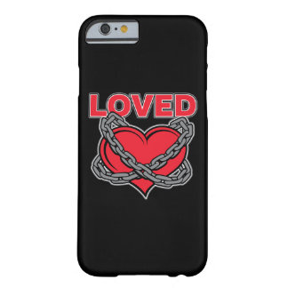 Valentines Day Chained Loved Heart Barely There iPhone 6 Case