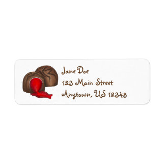 Valentine's Day Chocolate Cherry Cordial Labels