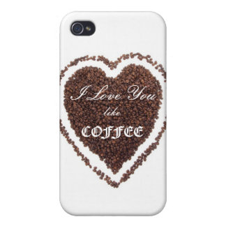 Valentine's Day Coffee love  iPhone 4/4S Cover