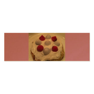 Valentine's Day Cookie by Ishah. Pack Of Skinny Business Cards