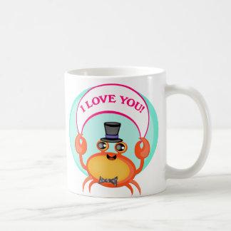 Valentine's Day Crab Mug