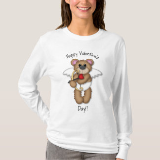 Valentines Day Cupid Teddy Bear Tshirt