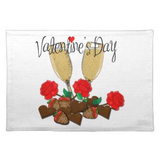 Valentine's day design placemat