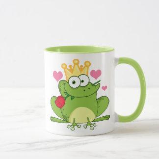 Valentine's Day Frog Kiss Mug