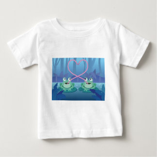 valentines day frog lovers baby T-Shirt