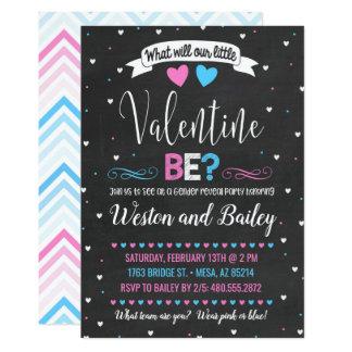 Valentine's Day Gender Reveal Invitation