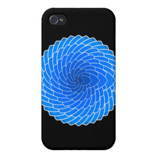 Valentine's Day Gift - Blue Hearts iPhone 4 Covers