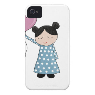 Valentine's day girl iPhone 4 case
