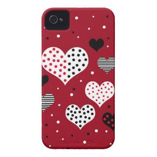 Valentine's day harts Case-Mate iPhone 4 case