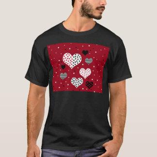 Valentine's day harts T-Shirt
