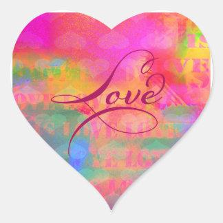 Valentine's Day Heart Love Heart Sticker