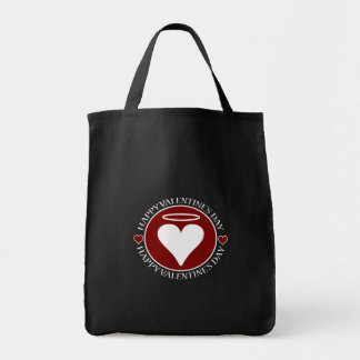 Valentine's Day Heart VII Canvas Bags