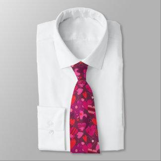 Valentine's Day Hearts Tie