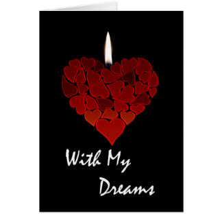 Valentine's Day, I Trust You With My Dreams Card