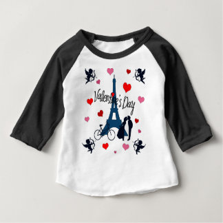Valentine's day in Paris Baby T-Shirt