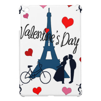 Valentine's day in Paris iPad Mini Cover