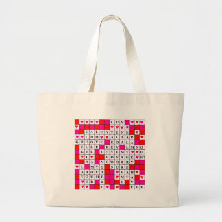 Valentines Day Large Tote Bag