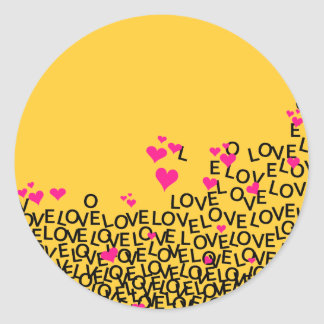 Valentine's Day Love Sticker