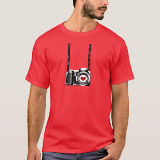 Valentine's Day Men Love Photographer T-shirt