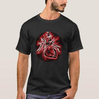 Valentine's Day Men T-shirt Fractured Heart