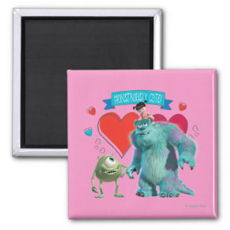Valentine's Day - Monsters Inc. Magnet