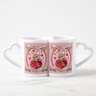 Valentine's Day - nesting mugs