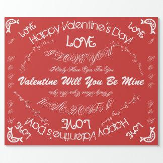 Valentine's day paper