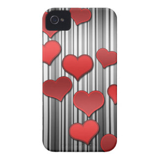 Valentine's day pattern Case-Mate iPhone 4 cases
