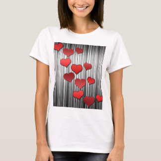 Valentine's day pattern T-Shirt