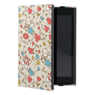 Valentine's Day Pattern with Cupid Case For iPad Mini