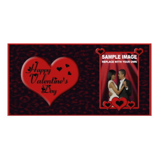 Valentine's Day Photo Card Customizable