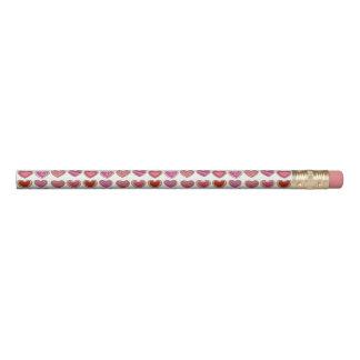 Valentine's Day Pink Heart Sugar Cookie Love Favor Pencil